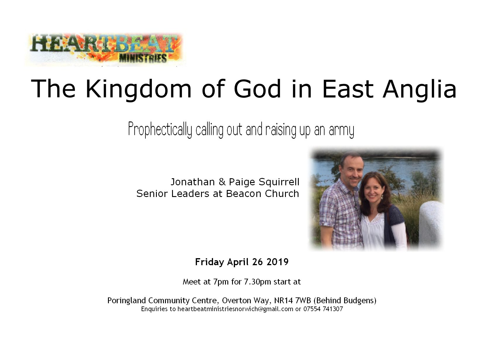 The Kingdom of God in East Anglia